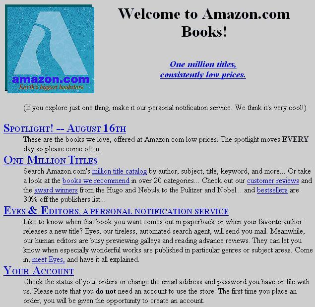 amazon-first-version