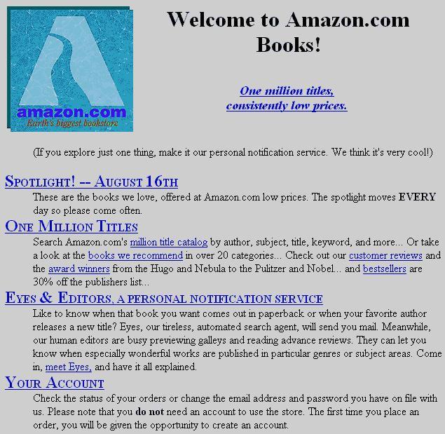 amazon-first-version