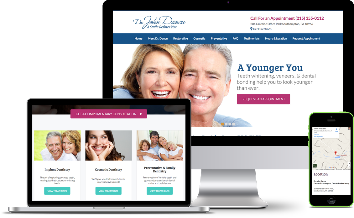 website design for dentists