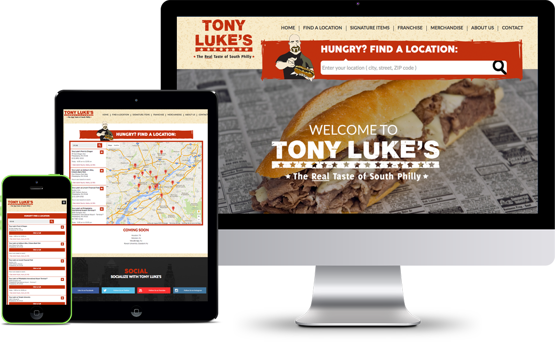 Website Design Samples Philadelphia Website Design - Us zip code website